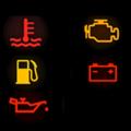 Los 5 símbolos críticos en nuestros vehículos de renta